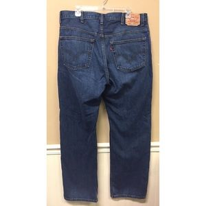 LEVIS 559 RELAXED FIT STRAIGHT LEG JEANS 38x34